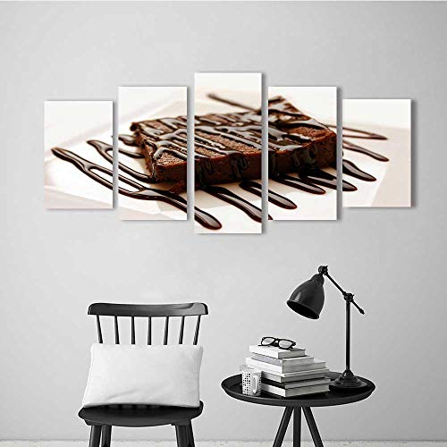 Wulian Combination of Decorative Painting Frameless A Delicious Cake for Wall Decor