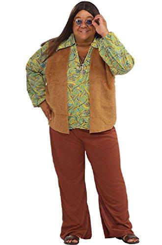 8eighteen 60's Groovy Disco Guy Plus Size Costume (Groovy Disco Guy Adult Costume)