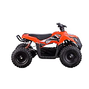 XtremepowerUS Electric Monster ATV 36V 500W w/ 3 Adjustable Speed, Orange