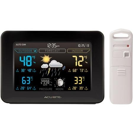 AcuRite Color Weather Station with ForecastTemperatureHumidi