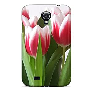 New Arrival Case Specially Design For Galaxy S4 (tulips)