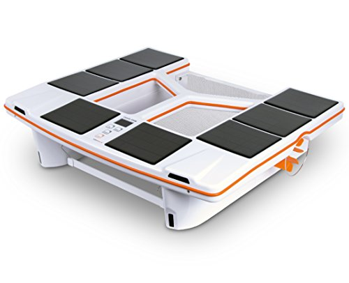 Skimdevil Robotic Pool Surface Cleaner Solar Powered