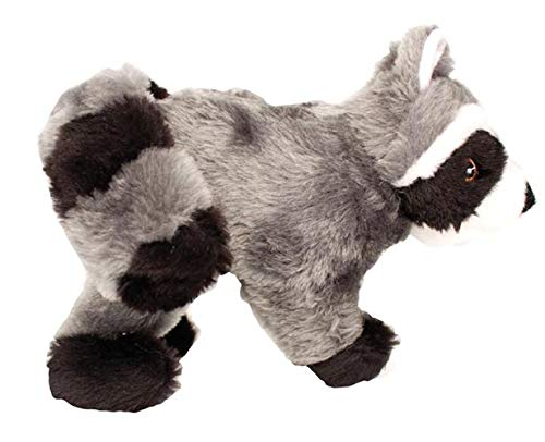 Ethical Pet SPOT Woodland Collection Raccoon | Dog Squeak Toys | Grunt Toy | Puppy Toys | Plush Fabric | 12.5