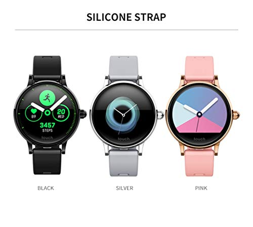 Hot Sale! NDGDA S10 Heart Rate Blood Pressure Sleep Monitoring Smart Watch Sports Bracelet Band (A) by NDGDA Smart Watch (Image #2)