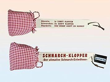 Attrapes Schnarchklopper Scherzgeschenk Cadeau D Anniversaire