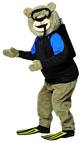 [Rasta Imposta Men's Ted 2 Kit Scuba Gear, Yellow/Red, One Size] (Scuba Costume Child)