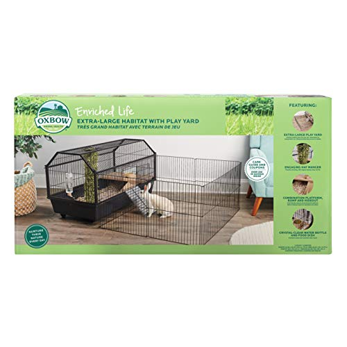 Oxbow Extra Large Habitat with Play Yd