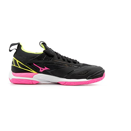 pinkglo Mizuno Femme Chaussures Wave Mirage syellow 2 Black vU8YWqHWOw