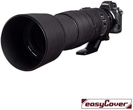 easyCover Lens Oak Black Neoprene Protector Sleeve for Nikon 200-500mm f//5.6 VR