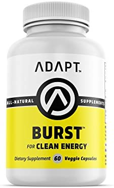 Adapt Burst Natural Caffeine L-Theanine 400mg Formulated
