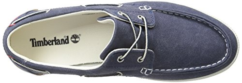 Timberland Men's Newport Bay Two-Eyelet Boat Shoe Navy Washed 2014 newest online TaUnQs5Gy