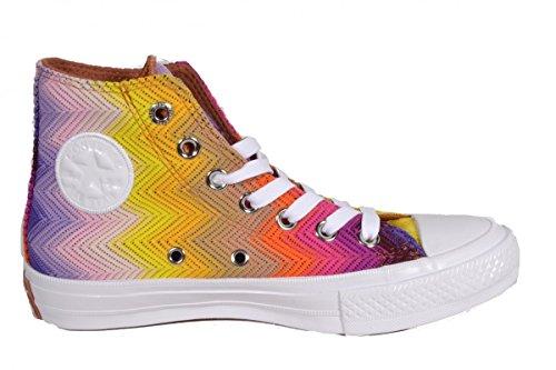 Star Femme Baskets Blanc Converse Chuck Ii violet All Mode High jaune Multicolore Missoni Taylor wqC0fqRt