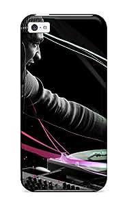 PLCsiQU20012liELS Case Cover, Fashionable Iphone 5c Case - Dj Music People Music