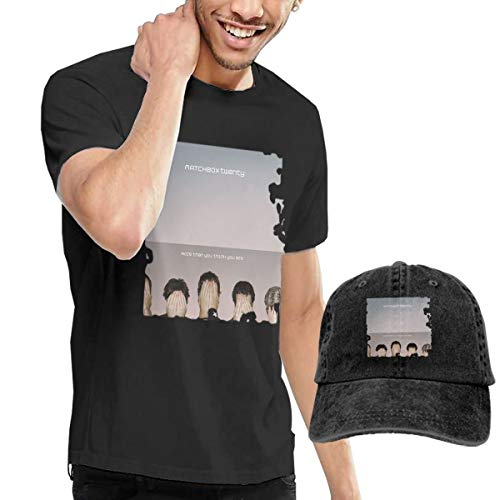 (Wwdcd Men's Matchbox Twenty More Than You Think You are Cool Party Black Shirt XXL Short Sleeve Give The Same Cowboy)