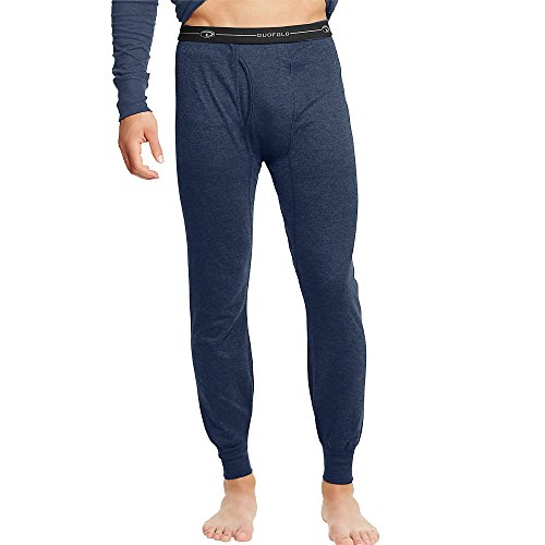 Duofold by Champion by Men's Thermals Mid-Weight Base-Layer Underwear_Navy_L by Champion
