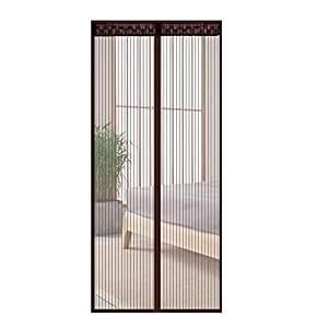 XUELIANG Cortina di zanzariere Velcro per la casa Estate Magnetica Silent Screen Doors Punch Fly Repellente Anti-zanzara… 3 spesavip