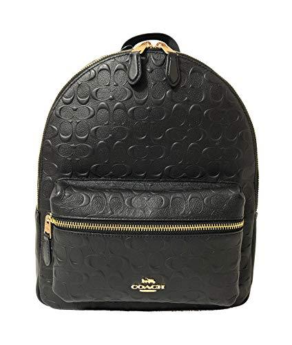 Coach F30550 Medium Charlie Backpack (IM/Black)