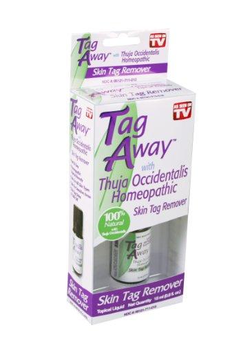 Натуры Подушки Tag Away Skin Удаление с Туя западная гомеопатические