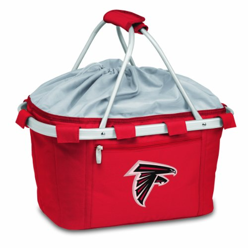 Falcons Collapsible (NFL Atlanta Falcons Metro Insulated Basket , Red)