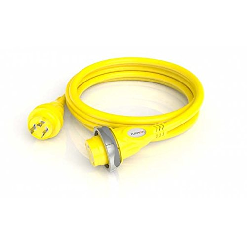 Furrion F30C50-SY 30A Marine Cordset 50 Ft/Yellow by Furrion