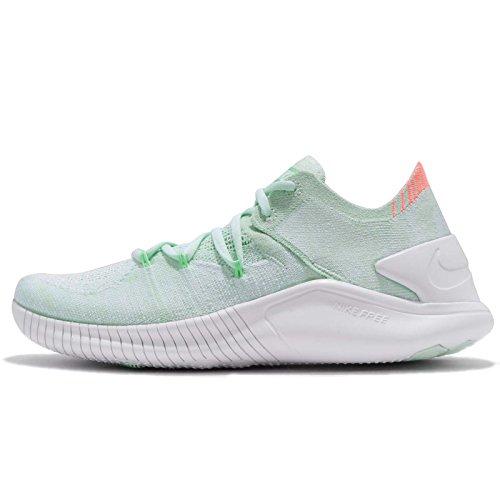 (Nike Women's WMNS Free TR Flyknit 3, Igloo/White-Crimson Pulse, 8 US)
