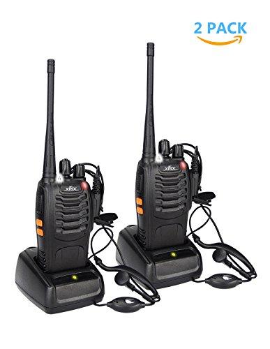 XFox X-888S Long Range 2 Way Radio UHF 400-470MHz 16CH CTCSS/DCS Walkie...