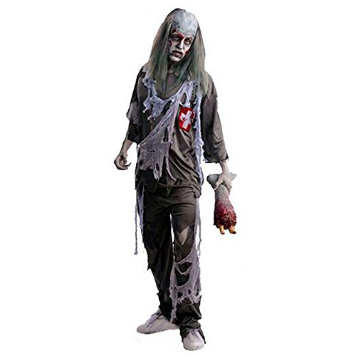 M2C Men's Zombie Doctor Costume … - Dr Horrible Costume Gloves