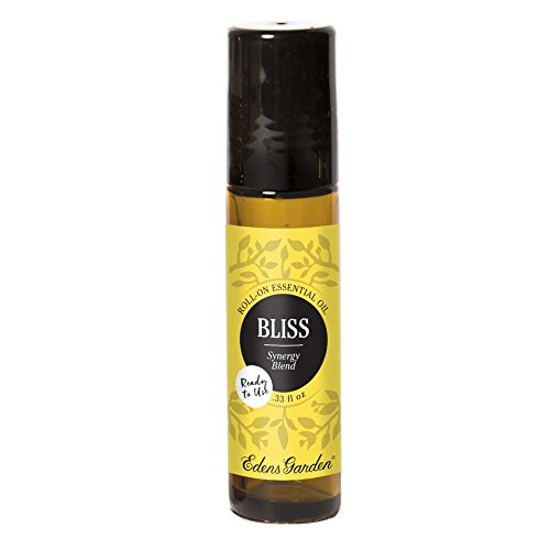 Bliss Pre-Diluted Essential Oil Roll-On Blend (100% Pure Therapeutic/Best Grade) Premium Aromatherapy Oils by Edens Garden- 10 ml