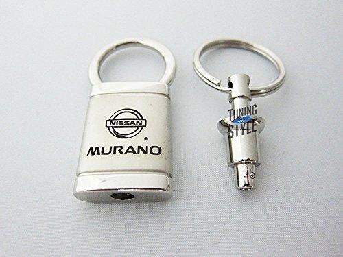 Nissan Murano Satin Chrome Valet Keychain