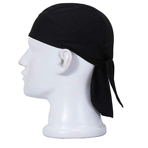 Lilyy Outdoor Sport Cycling Running Double Dry High-performance Dew doo Rag,headwrap,skull cap hat,helmet (Headwrap Du Rag)