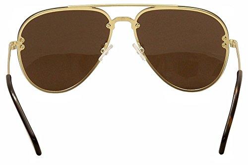 f212383a49ae Celine Mirror CL 41391 J5G LC Gold Metal Aviator Sunglasses • Céline ...