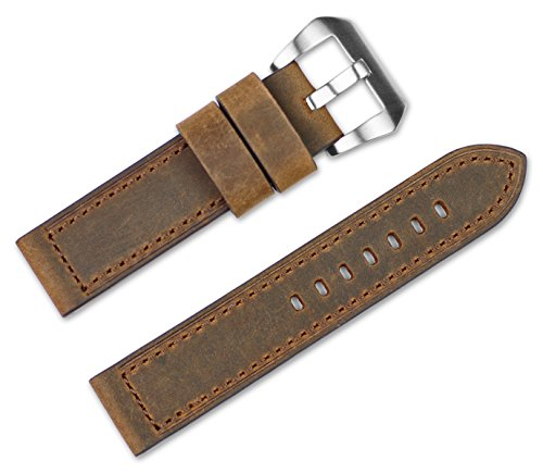 22mm-replacement-leather-watch-band-crazy-horse-saddle-leather-light-brown-watch-strap