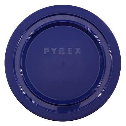 Amazon.com: Pyrex 7404-PC 4.5 Quart Navy Blue Round Plastic Storage ...