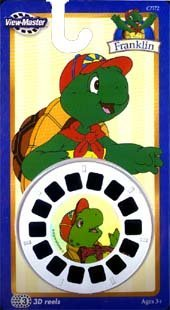 View Master 3D Reels Franklin The Turtle