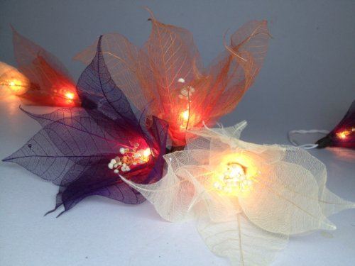 thai-handmade-20-burgundy-tone-bodhi-leave-special-with-pollen-flower-fairy-lights-string-35m-hangin