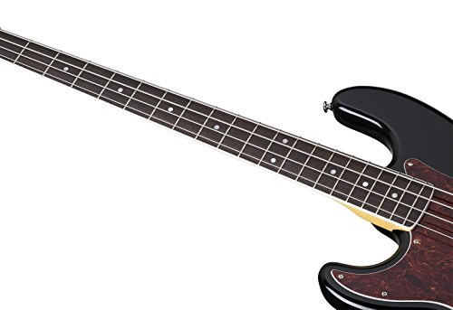 Schecter DIAMOND-P PLUS LH 4-String Bass Guitar, Black