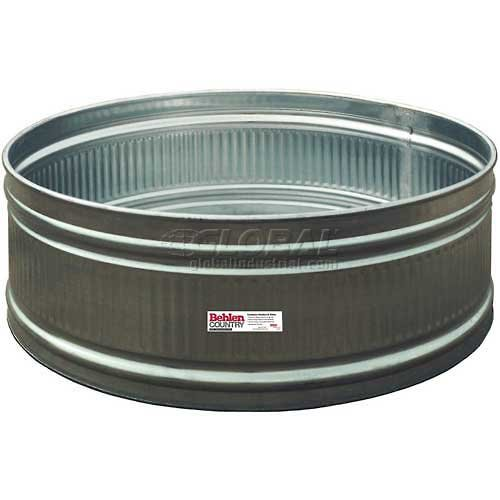Behlen Country Steel Stock Tank 50130128 Round Approximately 150 Gallon by Behlen Country