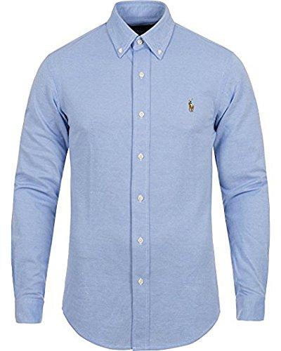 Polo Ralph Lauren Men's Slim Fit Soft Knit Oxford Button Down Shirt (XXL) (Ralph Lauren Polo Oxford)