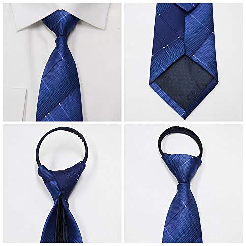 23 E Stile Affari La Colori Cravatta Unita Tinta Con Vari Da Stripe Festa Bozevon Disponibili Per Casual Matrimonio Uomo Cerniera THwxaU7q