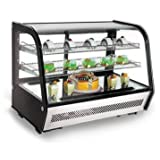 """Omcan RTW-160L 35"""" Countertop Refrigerated Showcase"""