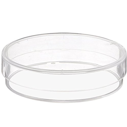 Plastic Petri Dishes, 60x15mm, 3 Vents, Sterile, Karter Scientific 206D5 (Pack of 20)