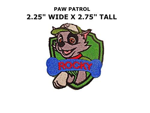 Cartoon Paw Patrol Rocky Iron or Sew-on Patch