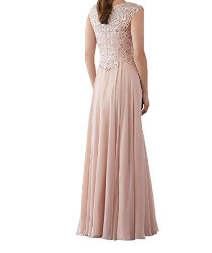 Spitze Festlichkleider Langes Damen Neu Brautmutterkleider Rosa Promkleider Partykleider Formalkleider Charmant 2018 Abendkleider wI8qHx6