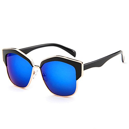 MosierBizne Male Fashion Personality Metal Retro Sunglasses Female - Polarizing Of Personality Definition