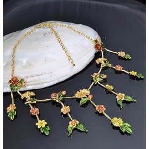 Buy Online - Collar y pendientes estilo bollywood