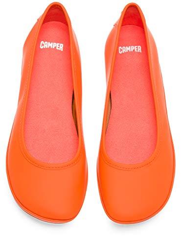 K200387 Orange Right Femme Camper Ballerines 015 qn5wRFX