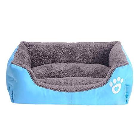 LIXIAOYUN Cálido Caramelo Color Nido para Mascotas Sofá Cama Cama para Gatos Peluche Perrera,A6,XL: Amazon.es: Deportes y aire libre