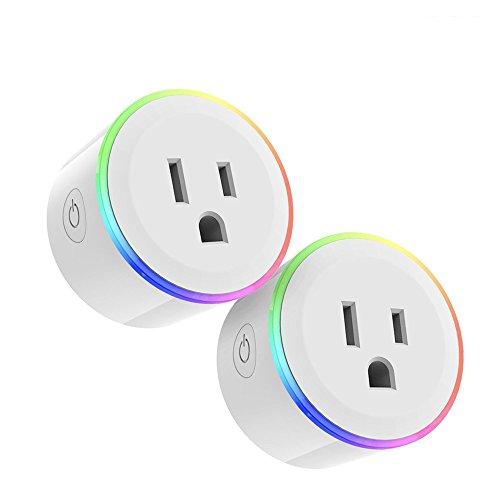 Clothful  LED Coloured Lights WiFi Intelligent Socket Work with Amazon Alexa (Printer 1100 Inkjet)