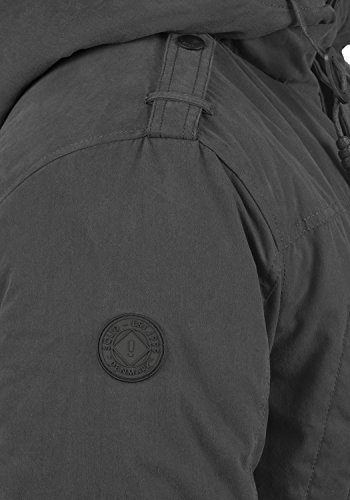 Dark Grey solid Davido Uomo Da Invernale 2890 Giacca qFFSwX1gP
