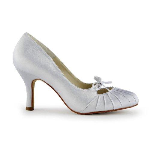 de Jia femme mariée Blanc Wedding mariage chaussures Jia A31B15 pour Escarpins 7rWrcqIHg